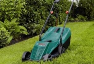Lawn mower, Bosch good quality