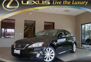 2010 Lexus IS 250 INTUITIVE PARKING 85,931 miles (Lexus of Concord – 94520)