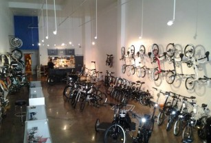 Bicycle retail salesperson folding and cargo (downtown / civic / van ness)