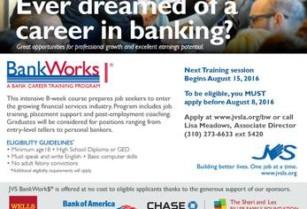 Free Bank Career Training and Job Placement Program August 15, 2016 (Huntington Park)