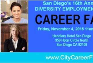 FREE CAREER FAIR! 11/4/16 Come meet San Diego's Top Employers! (Handlery Hotel)