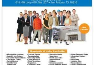 MEGA JOB FAIR NEXT TUESDAY the 24th! 700+ JOB AVAILABLE (618 NW Loop 410 Suite 207 San Antonio)