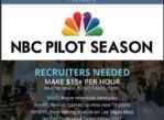 Hiring 200+ Outgoing Brand Ambassadors- NBC PILOT SEASON -4 WEEK PROMO (Flamingo, Link, Ballys & Fremont)