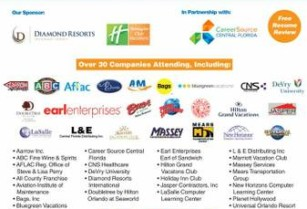 ** ORLANDO JOB FAIR -100's OF JOBS AVAILABLE ON JUNE 7th @ 10AM (Doubletree By Hilton Orlando at Seaworld)