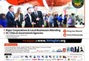 ★ JOB FAIR 100+ Corporations & Government Agencies (OC Fair & Event Center)