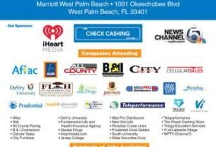 SOUTH FLORIDA MEGA JOB FAIR, June 27, 10 AM – 2 PM (1001 Okeechobee Blvd)