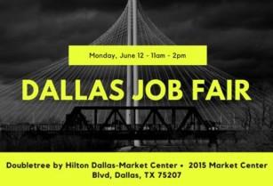 Dallas Job Fair!! Monday, 6/12 @ 11am – Multiple Employers Hiring! (Dallas)