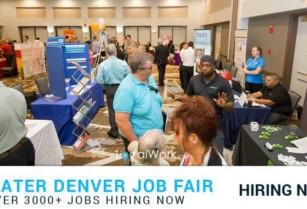 ***HIRING MONDAY*** 30+ Companies Hiring EXPO – Are You Professional? (Cherry Creek Denver)