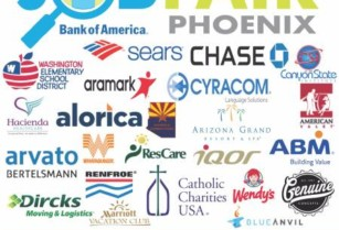 MEGA JOB FAIR 40 Employers – 600+ full-time jobs! (Phoenix)