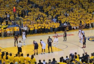 Warriors vs Detroit Pistons, Sec 104, Row 18, LOWER LEVEL – $140 (dublin / pleasanton / livermore)