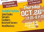 *Fall Festival of Opportunties* 1-5 p.m. * Thursday, October 26th * (Downtown)