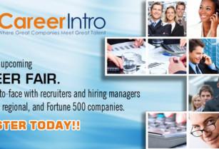 San Antonio Career Fair – Meet Fortune 500 companies – October 10th