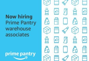 Amazon is hiring FT Seasonal Pantry Associates in New Century! (New Century, KS)  hide this posting
