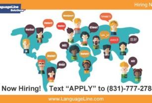 HIRING BILINGUAL ENGLISH / CHINESE, KOREAN, VIETNAMESE, AND MORE! ((TEXT