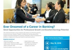 Are you interested in a FREE job PLACEMENT program in the banking indu