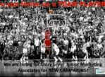 Sports Junior Marketing Associates- Entry Level (San Diego)