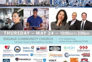 San Diego Job Fair — Hundreds of Jobs Available — Register Today!!! (Lemon Grove Recreation Center)