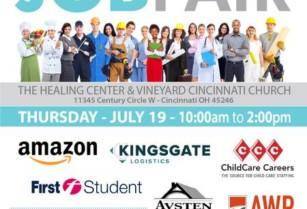 Job Fair Next Thursday – Land a New Job – REGISTER NOW! (The Healing Center)