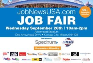 ▻▻ Kansas City JOB FAIR Sept  26th — 60+ Companies!◅◅