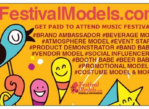 Experiential Marketing – Festival Models Wanted (Las Vegas)