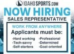 Join The IdahoSports.com Sales Team!